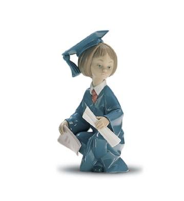 LladroCommencement 1996-01Porcelain Figurine