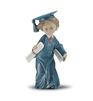 Retired Lladro Cap And Gown