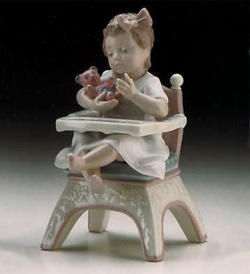 LladroLittle BearPorcelain Figurine