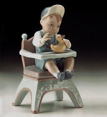 LladroRubber Ducky 1996-99Porcelain Figurine