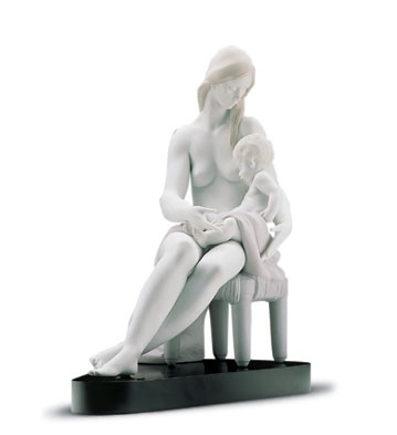 Retired Lladro Care And Tenderness