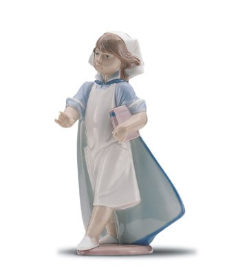 LladroYoung Nurse 1996-01