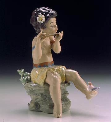 LladroNatures Song 1996-99Porcelain Figurine