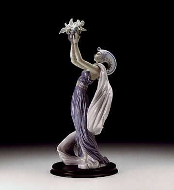 Lladro Princess Of Peace Porcelain Figurine