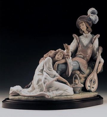 LladroMedieval Romance 1996-99Porcelain Figurine