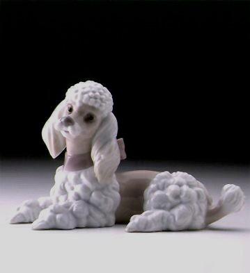 LladroPoodle 1997-00Porcelain Figurine