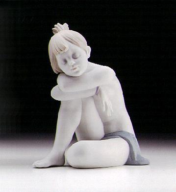 LladroI'm Sleepy (white) 1997-00Porcelain Figurine