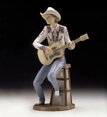 Lladro Country Sounds 1996-99 Porcelain Figurine