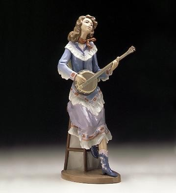 Lladro Sweet Country 1996-99 Porcelain Figurine