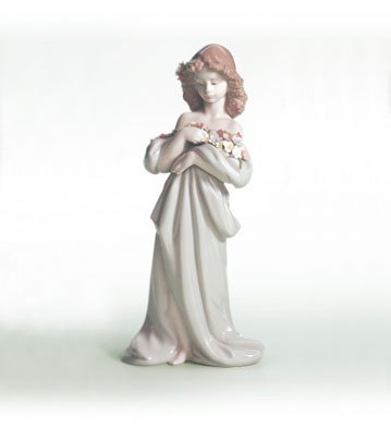 Lladro Petals Of Love 1998-07 Porcelain Figurine