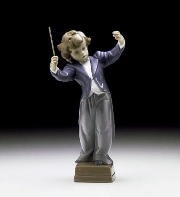 LladroLittle Maestro 1997-00Porcelain Figurine