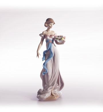 LladroSpring FlirtationPorcelain Figurine