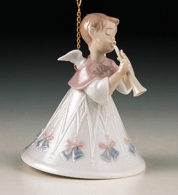 LladroHeavenly Flutist 1997-98Porcelain Figurine