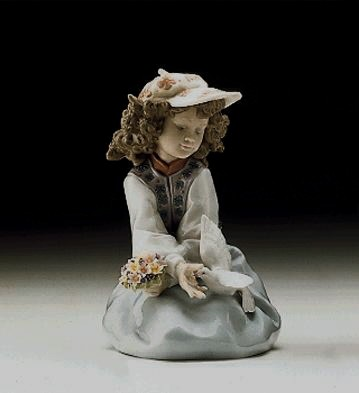 LladroGenerous Gesture 1997-00Porcelain Figurine