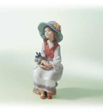 Lladro Daydreams Porcelain Figurine