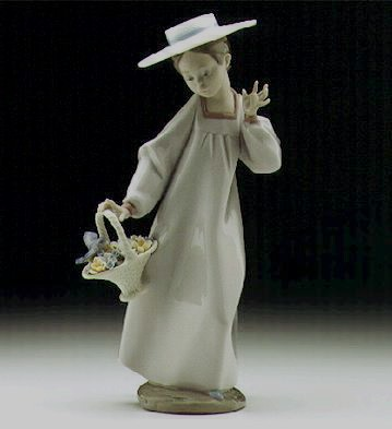 Lladro Hello Friend 1997-00 Porcelain Figurine