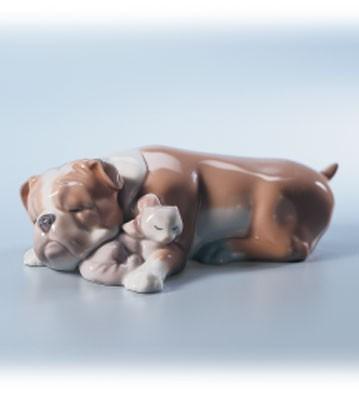 LladroUnlikely FriendsPorcelain Figurine