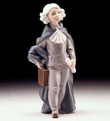 LladroLittle Lawyer 1997-99Porcelain Figurine