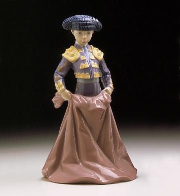 Lladro Young Torero 1997-99 Porcelain Figurine