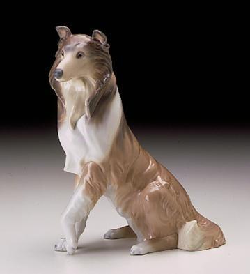 LladroCollie 1997-00Porcelain Figurine