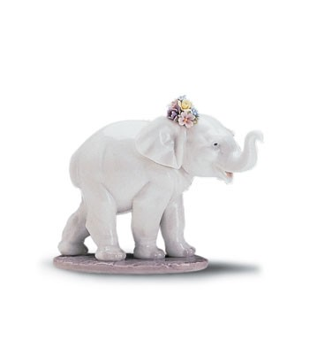 Lladro Lucky Strolling 1997-01
