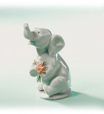 Retired Lladro Lucky In Love