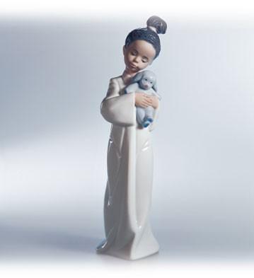 LladroMy Cuddly PuppyPorcelain Figurine