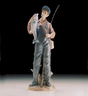 LladroA Prize Catch 1998-00Porcelain Figurine