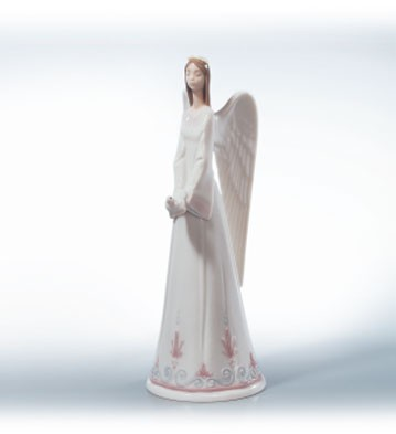 Lladro Sounds Of Peace Porcelain Figurine
