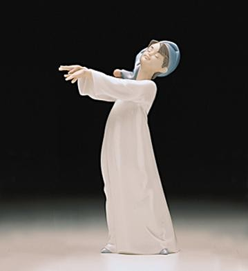 Lladro Little Sleepwalker 1997-00 Porcelain Figurine