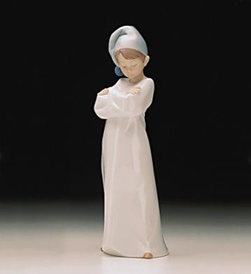 Lladro Its Morning Already 1997-01 Porcelain Figurine