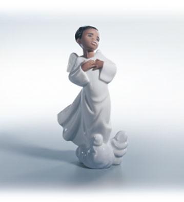 LladroFilled With JoyPorcelain Figurine