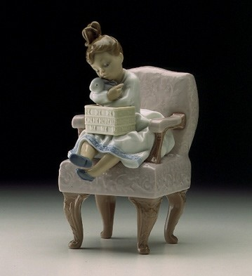 Lladro A Birthday Surprise 1998-00 Porcelain Figurine