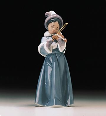 Lladro The Spirit Of Christmas 1998-00 Porcelain Figurine