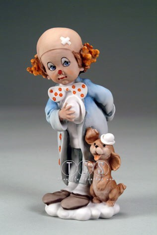 Giuseppe Armani Little Clown-Retired