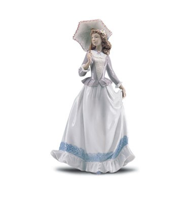 Lladro On The Boulevard 2000-01 Porcelain Figurine