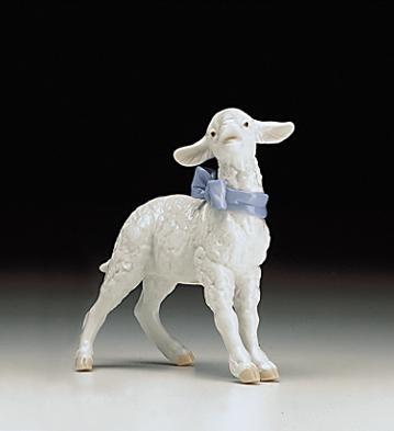 LladroBaby Boy Lamb 1998-00