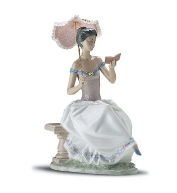 Lladro Love Poem 1998-01 Porcelain Figurine