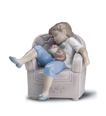 Lladro Naptime Friends 1998-01