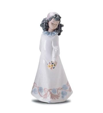 LladroPretty Posies 1998-01Porcelain Figurine