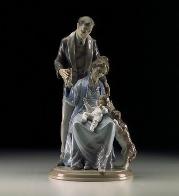 Lladro Grandparents Joy 1998-2000