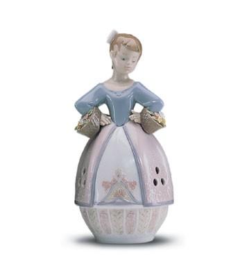 LladroSpringtime Scent 1998-01Porcelain Figurine