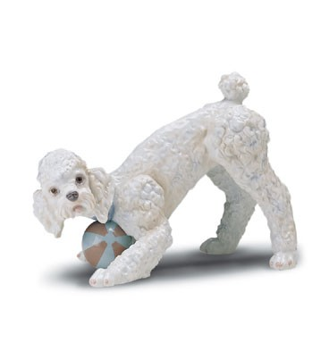 Lladro Playful Poodle (large) 1998-01