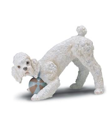 LladroPlayful Poodle (large) 1998-01