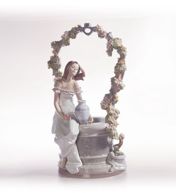 Lladro A Wish For Love Porcelain Figurine