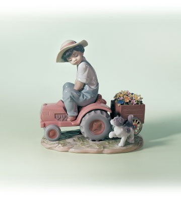 Lladro A Day's Work 1999-02 Porcelain Figurine