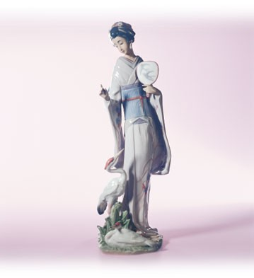 Lladro In Touch With Nature Porcelain Figurine