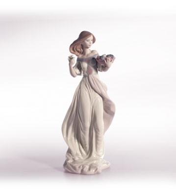 LladroAutumn RomancePorcelain Figurine