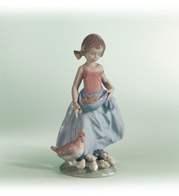 Lladro Afternoon Snack Porcelain Figurine