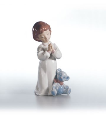Retired Lladro Nighttime Blessings